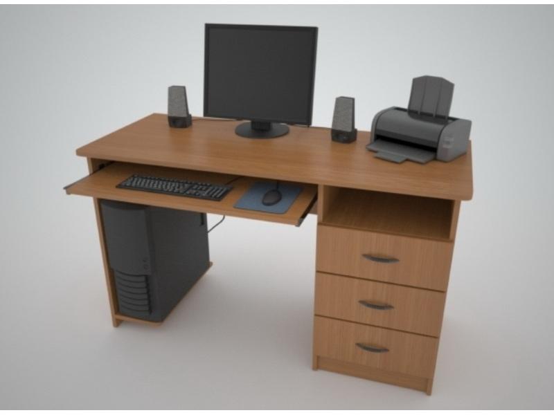 Недорогой компьютерный стол Поинт СТ-7
