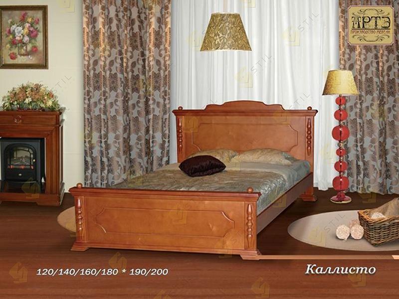 Кровать из массива Каллисто