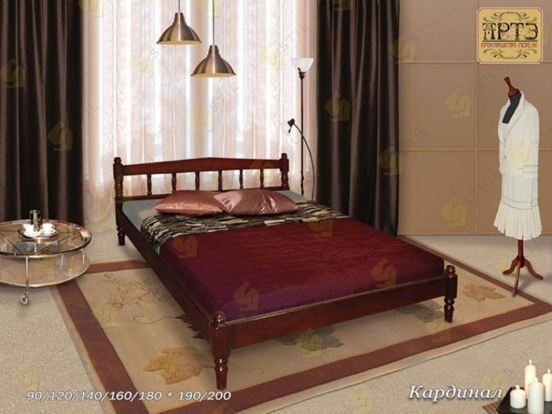 Кровать из массива Кардинал