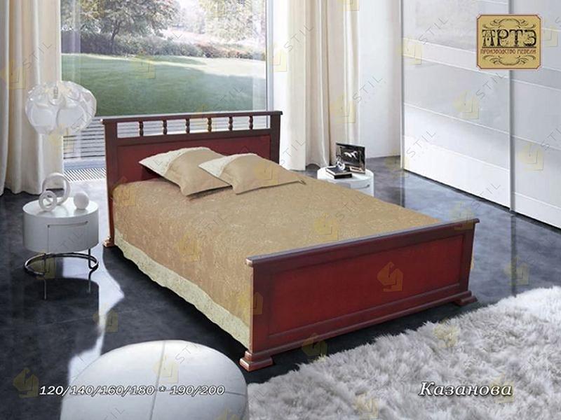 Кровать из массива Казанова