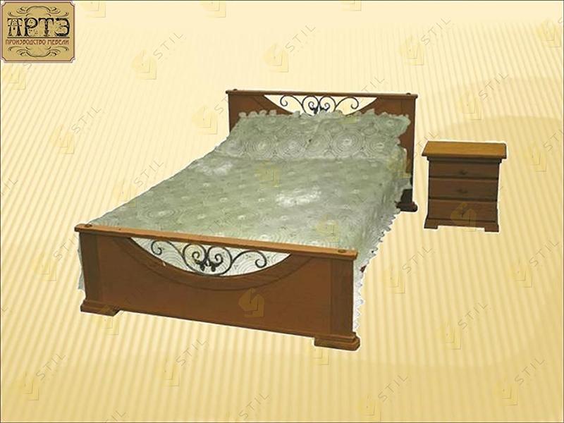 Кровать из массива Кристина