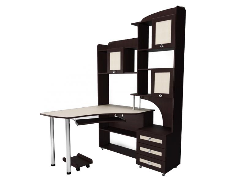 Угловой компьютерный стол М-19