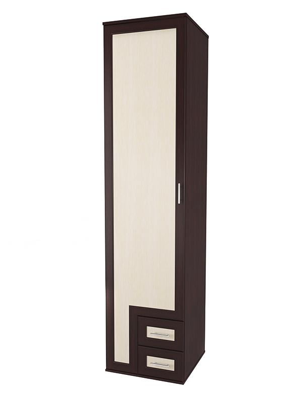 Недорогой распашной одностворчатый шкаф М-1