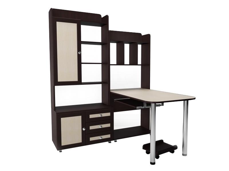 Угловой компьютерный стол М-20 от производителя фабрики Стиль