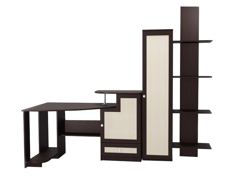 Угловой компьютерный стол М-6