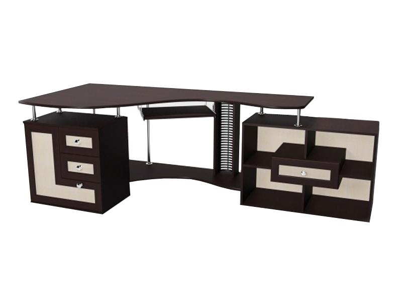 Угловой компьютерный стол М-9