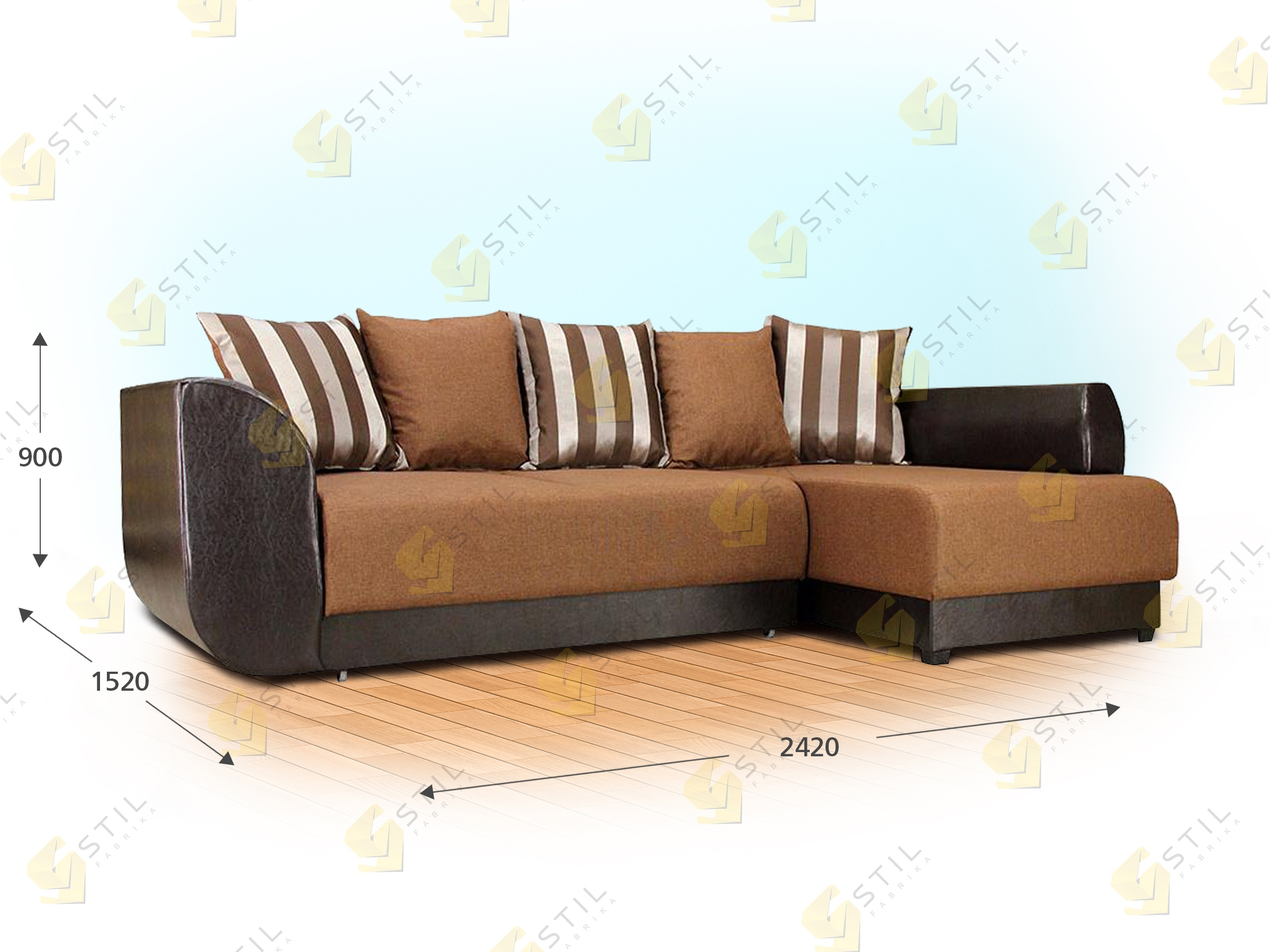 Угловой диван Марчелло