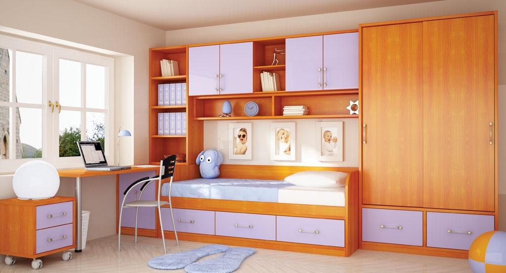 Набор мебели в детскую для девочки Маркиза-1