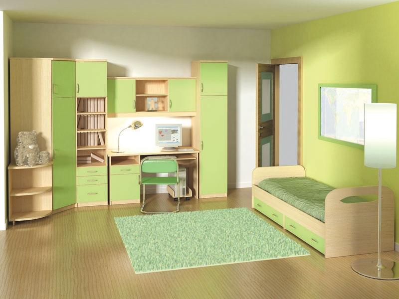 Вместительный набор мебели для детской Маркиза-2