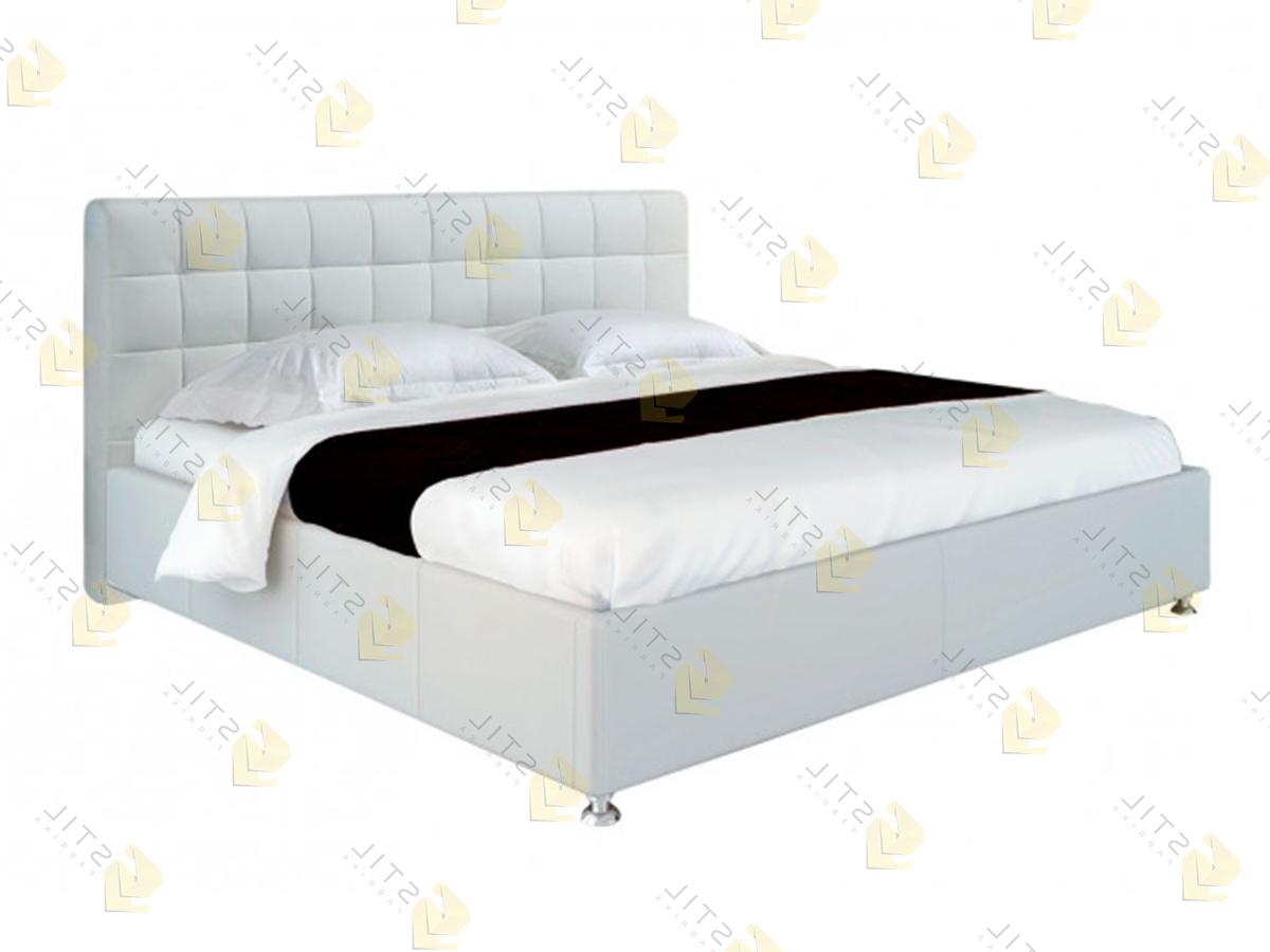 Кровать с мягким изголовьем Массалия