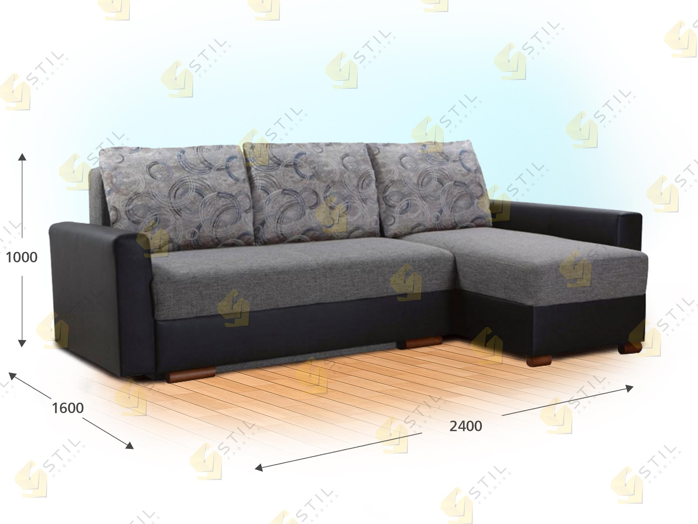 Угловой диван Массне