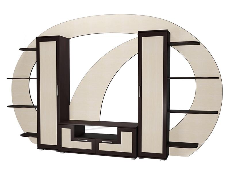 Современная модульная стенка в гостиную М-12