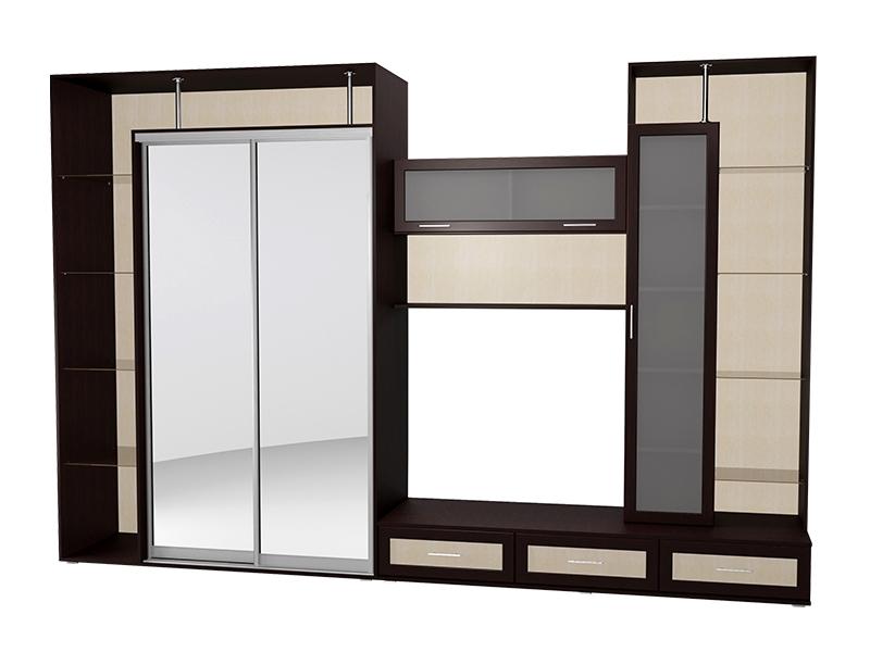 Модульная стенка премиум-класса для гостиной М-16