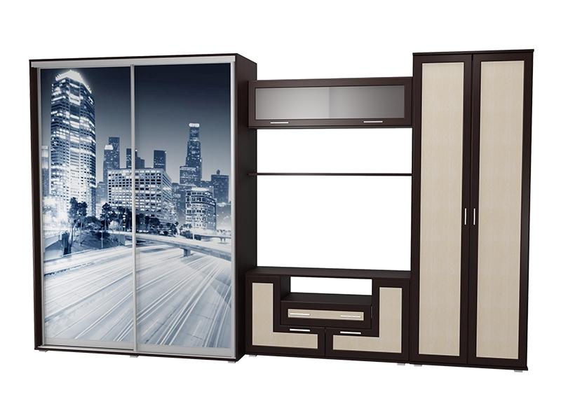 Современная стенка для гостиной премиум-класса М-18