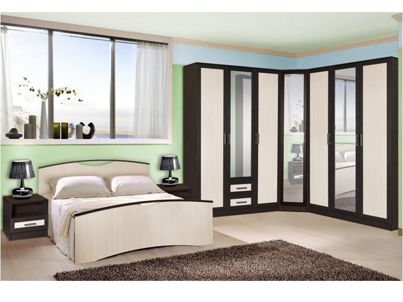 Недорогая спальня Милена-4