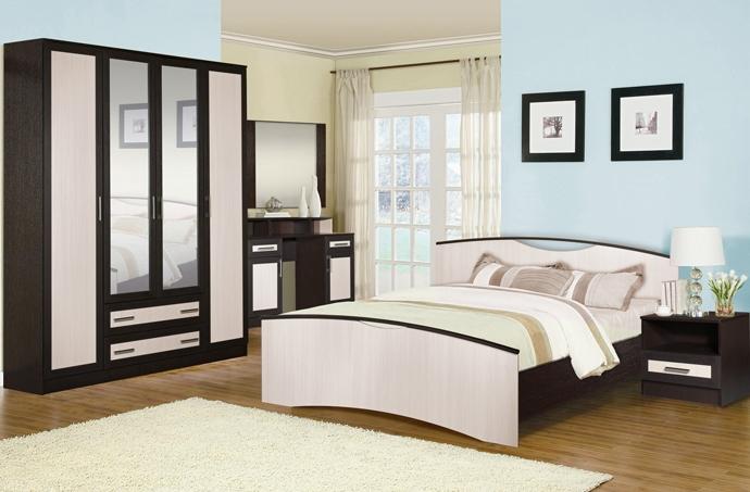 Модульная спальня Милена-6