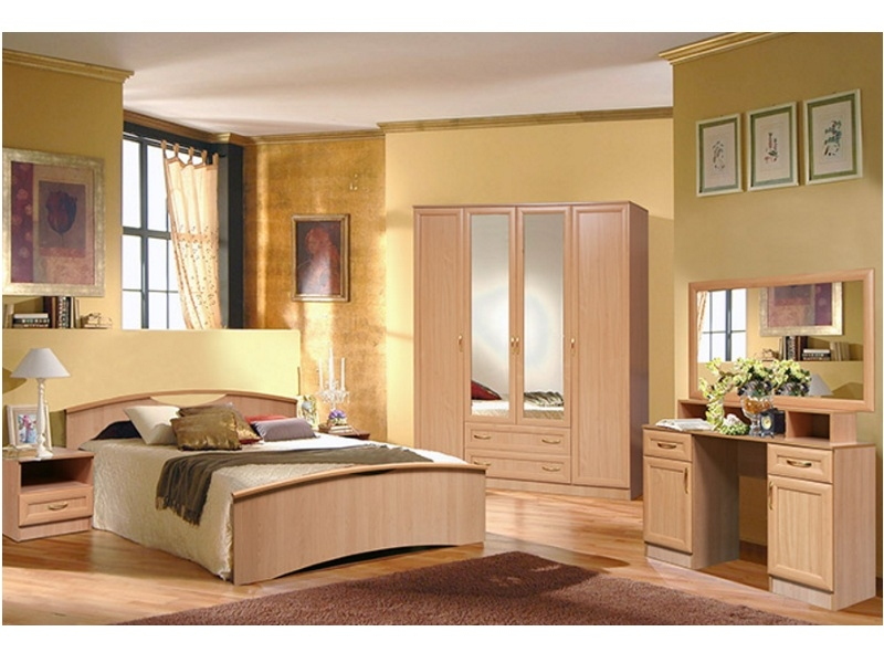 Недорогая спальня Милена-8