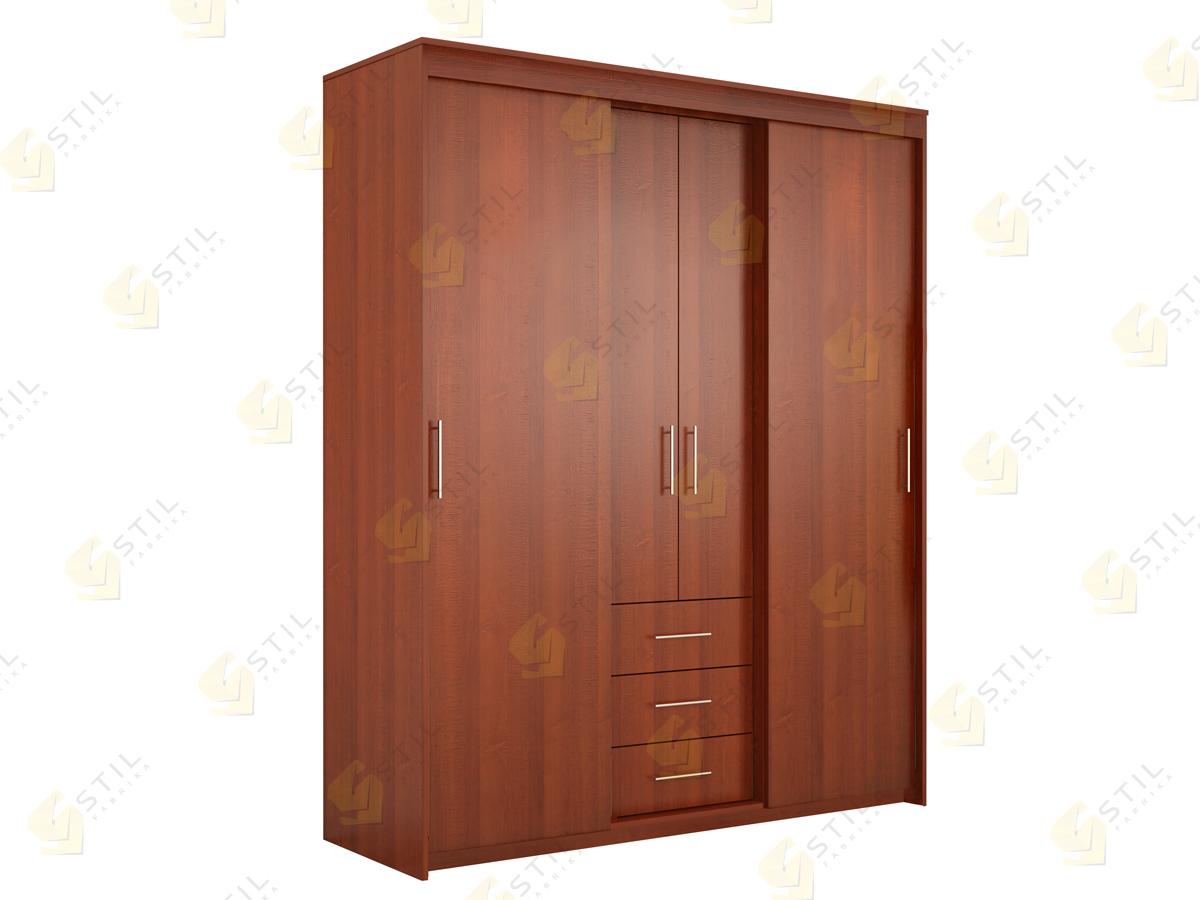 Недорогой шкаф-купе Миллениум 5