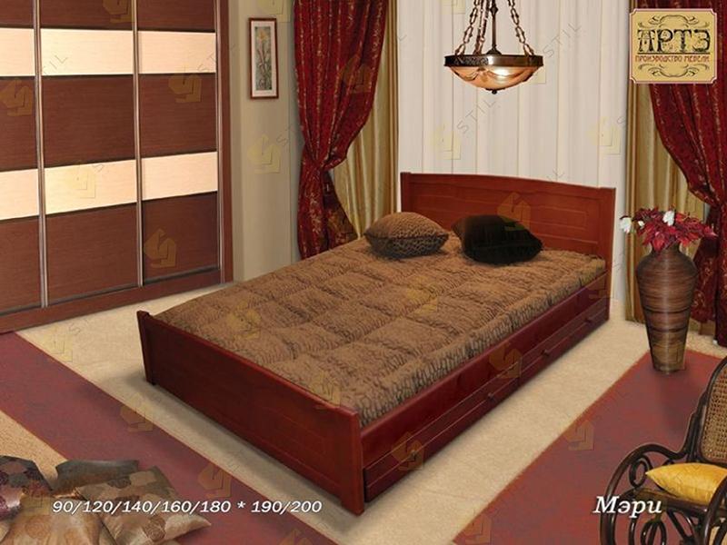 Кровать из массива Мэри