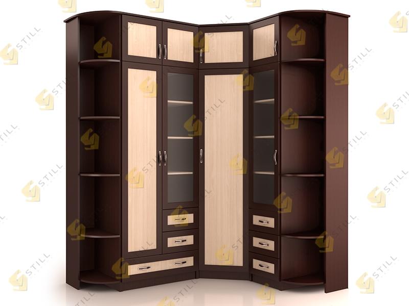 Угловой шкаф НКМ-1 без зеркал