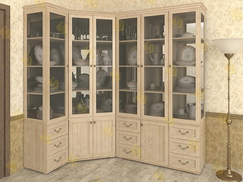 Набор шкафов для посуды Витраж 2С