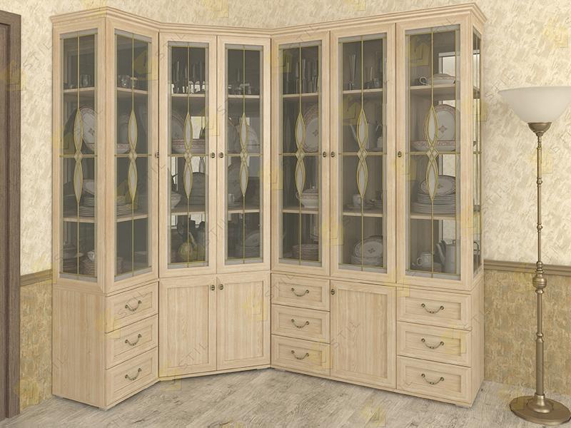 Набор шкафов для посуды Витраж 2В