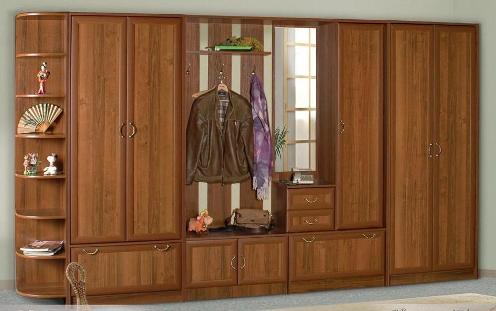Недорогая прихожая с распашными дверями Новелла-4М