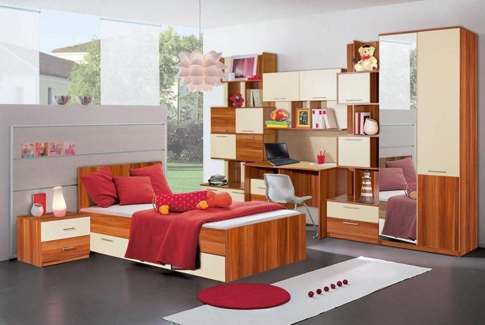 Недорогой набор мебели для девочки Ральф-2