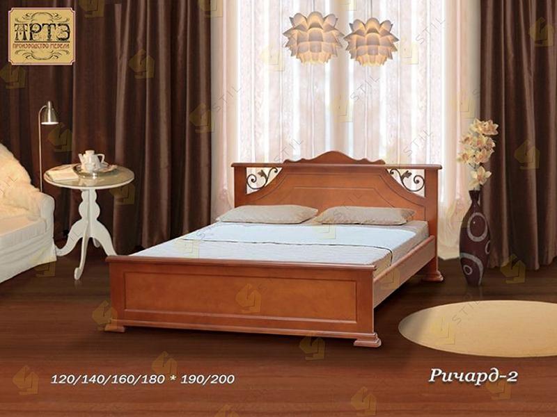 Кровать из массива Ричард 2
