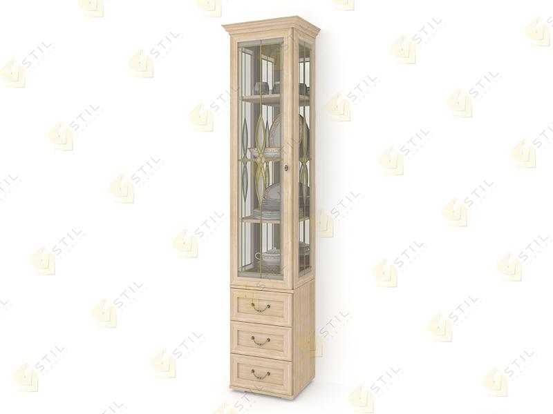 Шкаф для посуды Витраж 1В