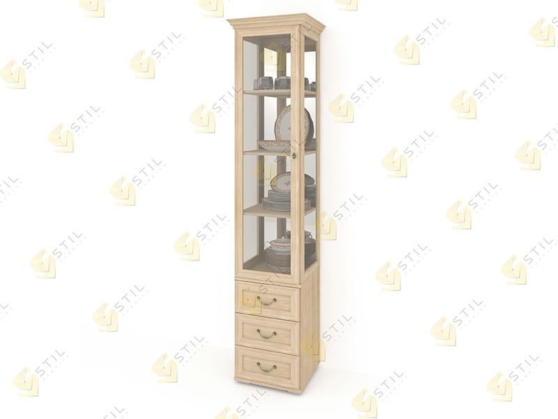 Шкаф для посуды Витраж 1С