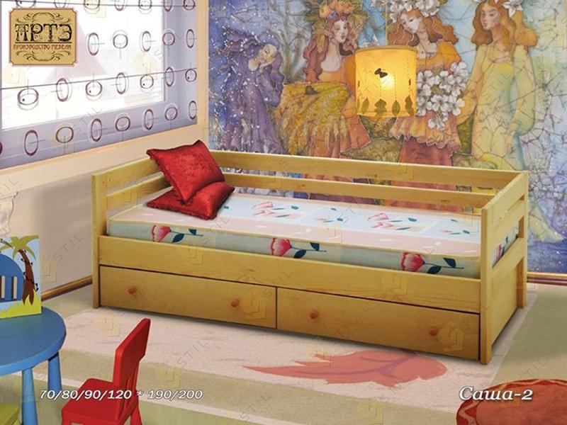 Детская кровать из массива Саша-2