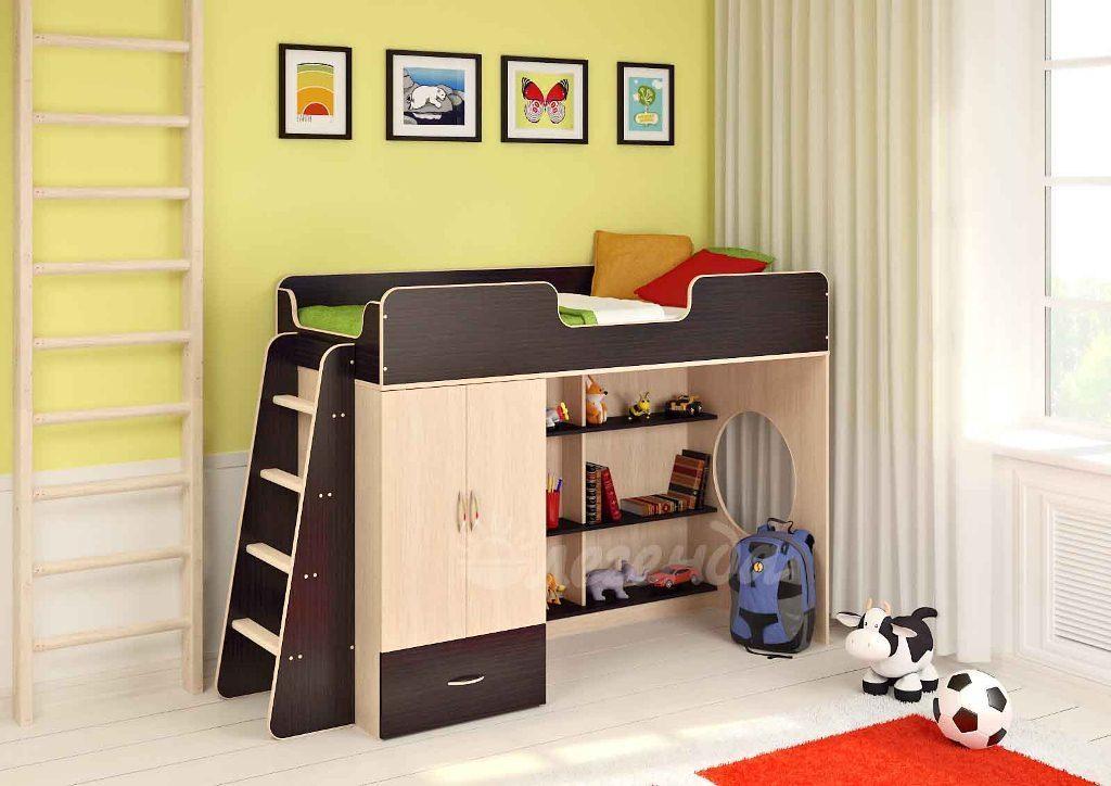 Недорогой набор мебели в детскую Сказка-1