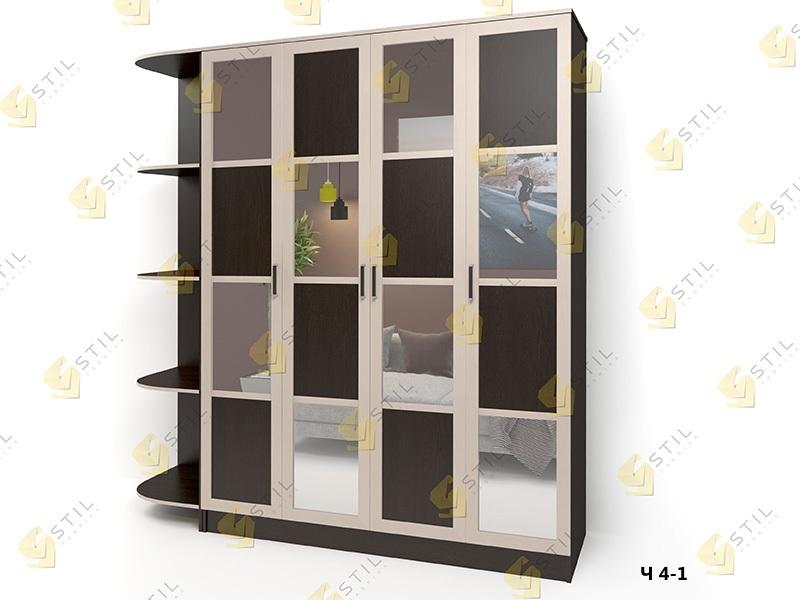 Распашной шкаф Стайл Люкс Ч 4-1
