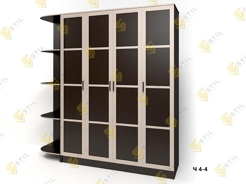 Распашной шкаф Стайл Люкс Ч 4-4