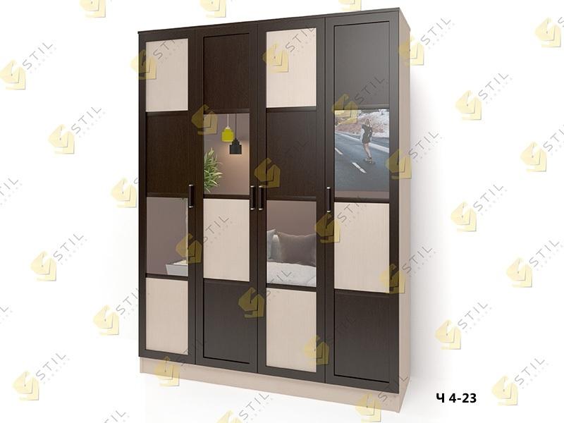 Распашной шкаф Стайл Люкс Ч 4-23
