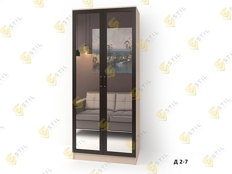 """Шкаф двухстворчатый """"стайл люкс-д2"""" 2(1) - свой шкаф."""