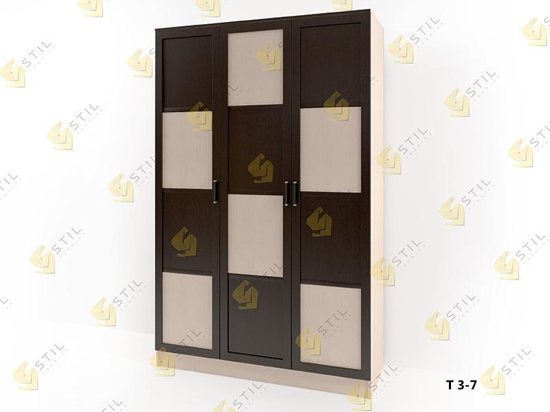 Распашной шкаф Стайл Люкс Т 3-7