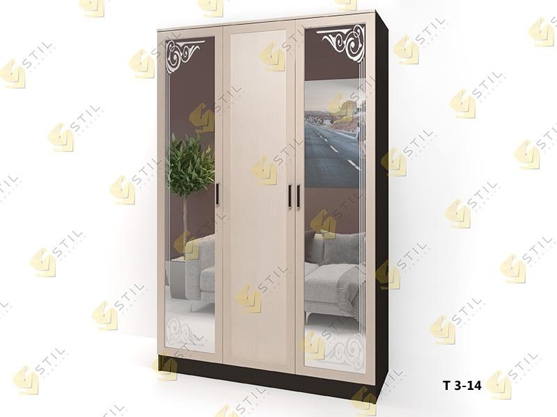 Распашной шкаф Стайл Люкс Т 3-14