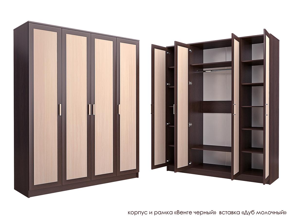 Распашной шкаф Стиль Ч-1М эконом