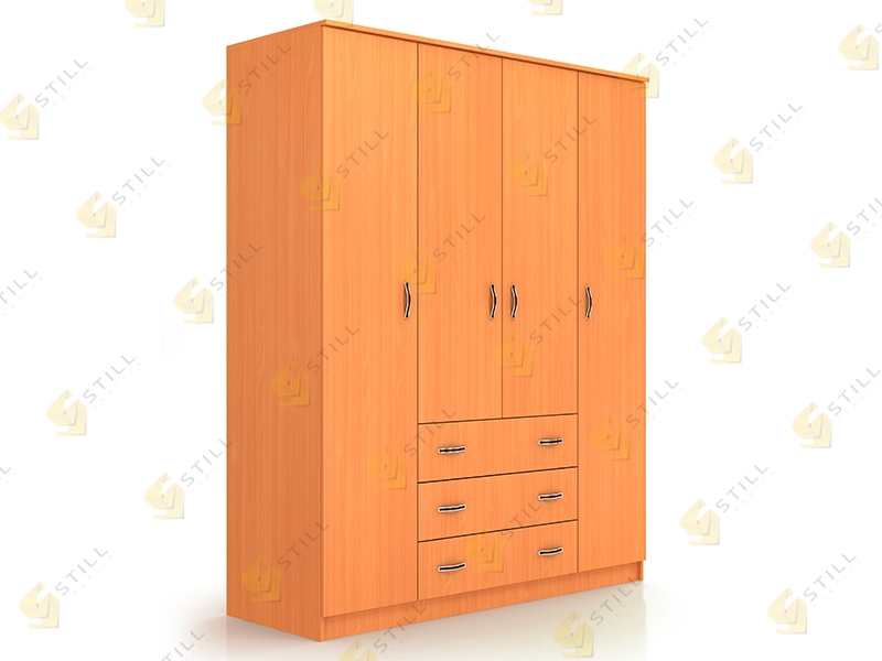 Распашной шкаф Стиль Ч-2Л эконом