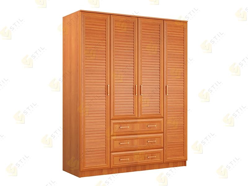 Купить распашной шкаф без антресоли стиль Ч-2ж от производит.