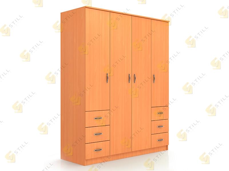 Распашной шкаф Стиль Ч-3Л эконом
