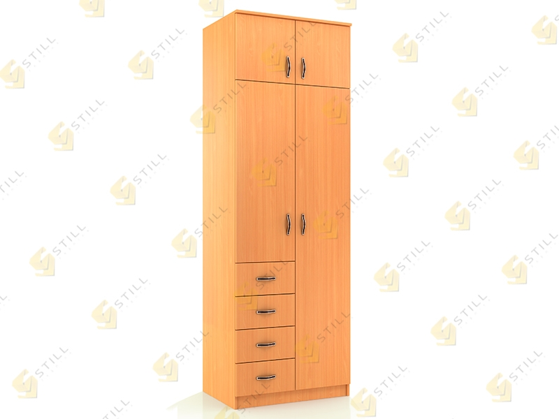 Распашной шкаф Стиль Д-11Л эконом
