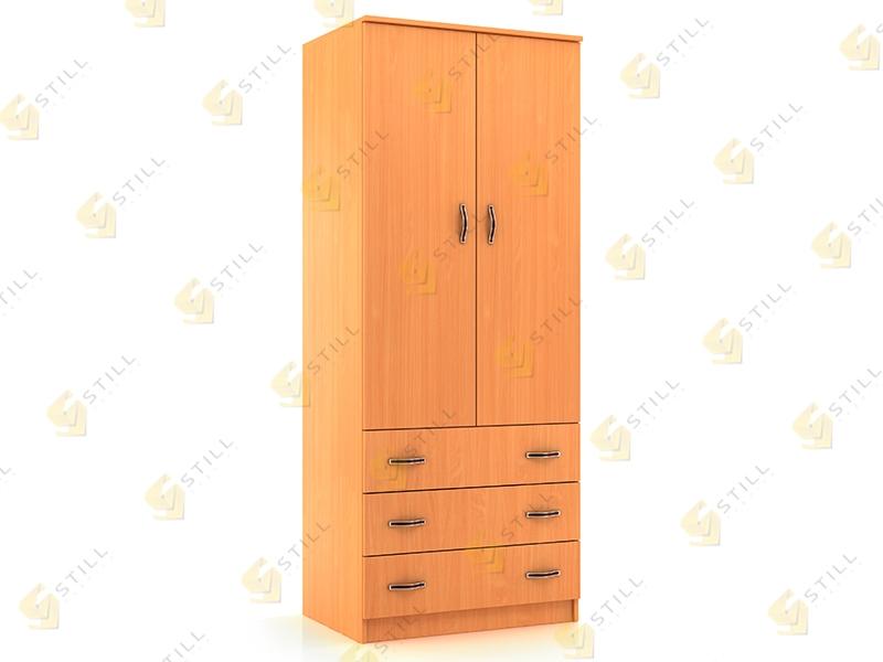Распашной шкаф Стиль Д-4Л эконом