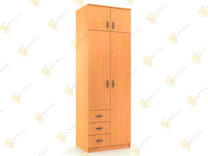 Распашной шкаф Стиль Д-10Л эконом