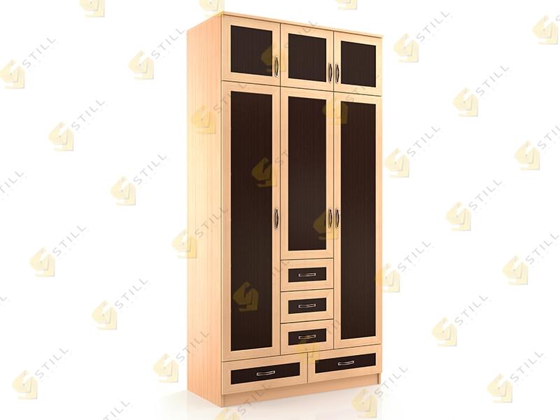 Купить распашной шкаф с антресолью стиль т-18м от производит.