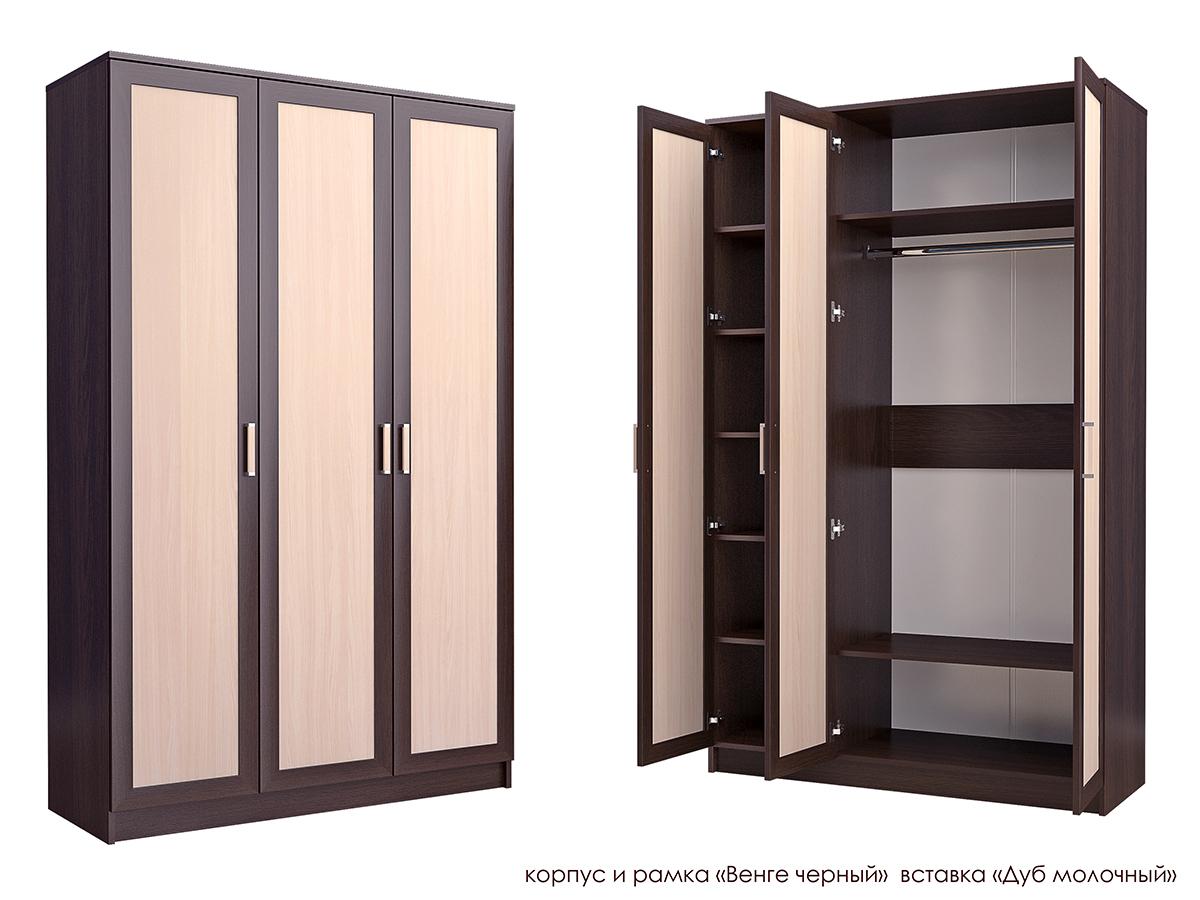 Распашной шкаф Стиль Т-1М