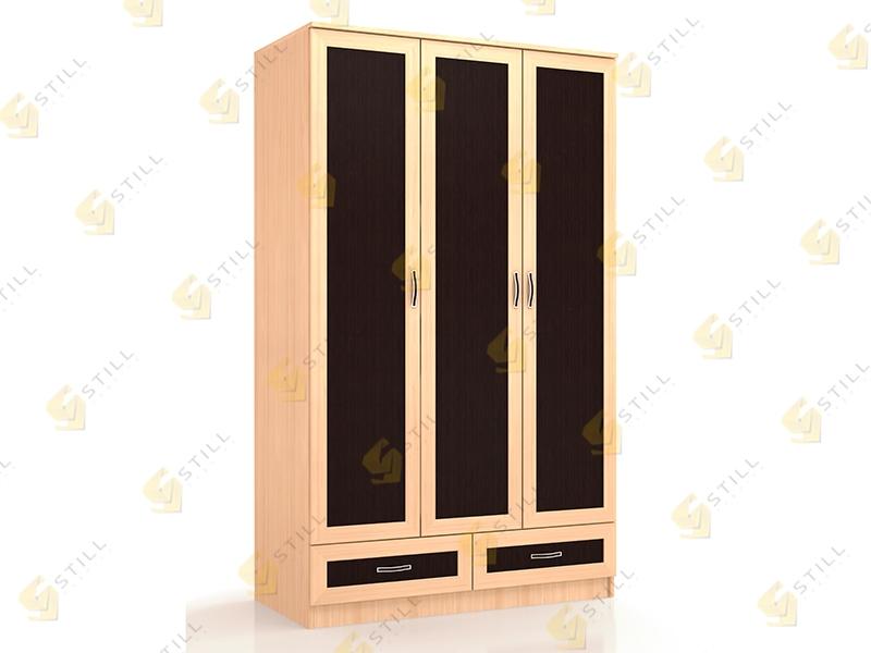 Шкаф распашной мебельсон фиеста шкаф 3 створчатый - muscao.r.