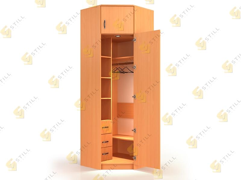 Угловой шкаф Стиль У-12Л эконом
